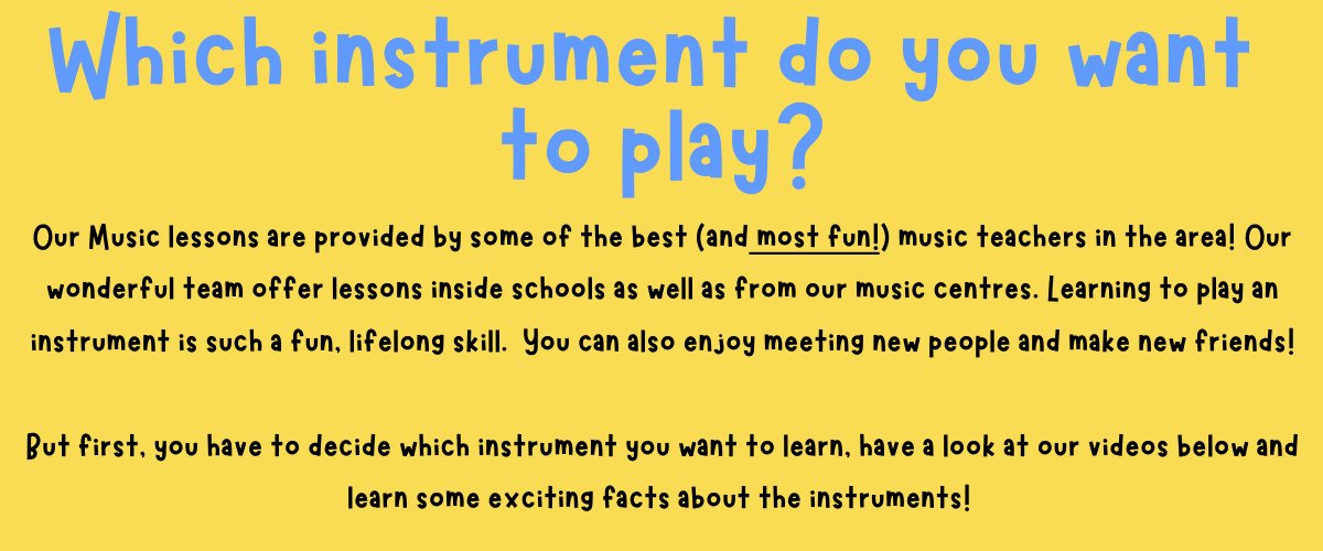 Do you want to learn an instrument_