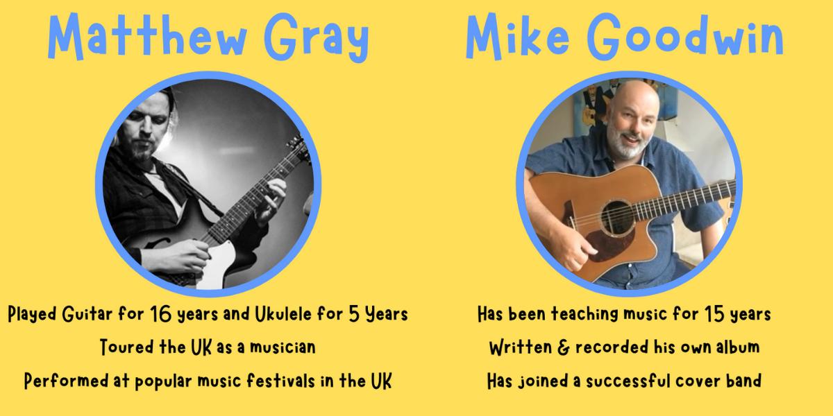 Our guitar teachers....