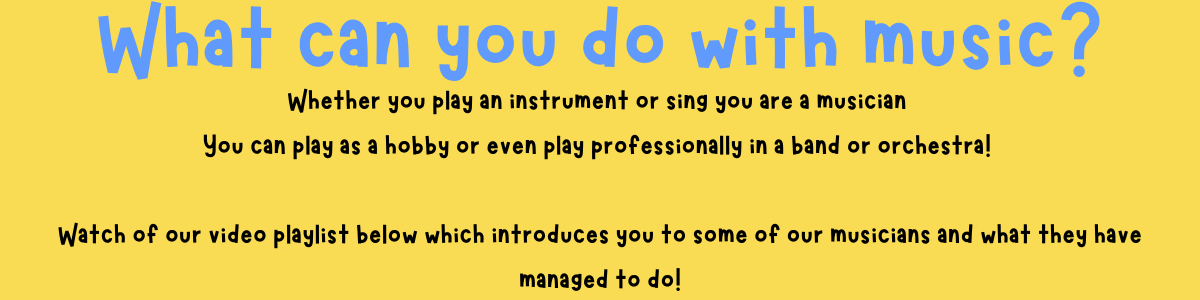 What can you do with music...
