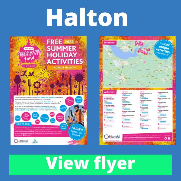 View Halton HAF Summer...
