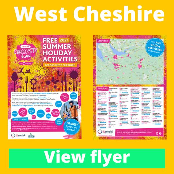 View West Cheshire HAF Summer...